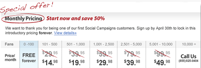 Special Introductory Pricing for Social Campaigns.png