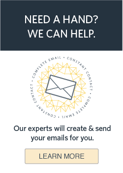 Need some help with your Marketing? Check out our Complete Email Service!