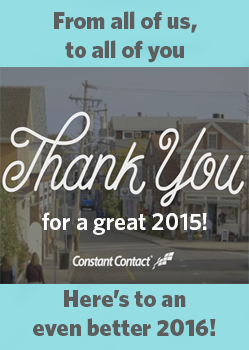 Thank you for a great 2015!