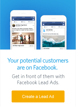 Your potential customers are on Facebook.