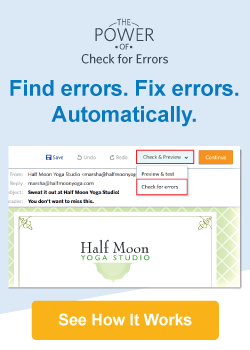 Find errors. Fix errors. Automatically. See How It Works.