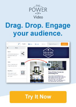 Drag. Drop. Engage your audience. Try it now.