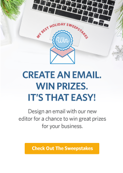 Create, send, share, win!  Enter the Your Best Holiday Sweepstakes.