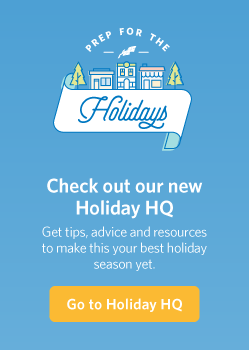 The holidays are not that far away. Start planning today!