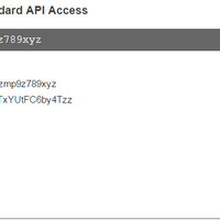 API Key Information
