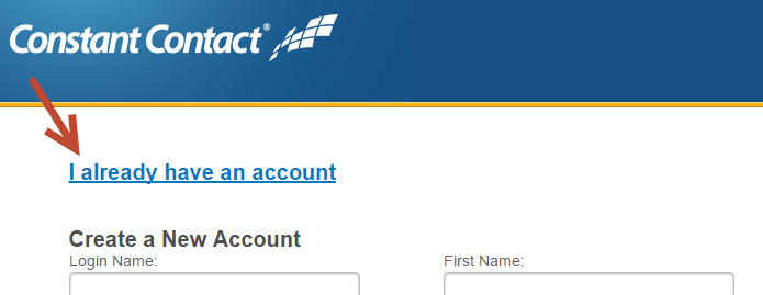 I already have an account