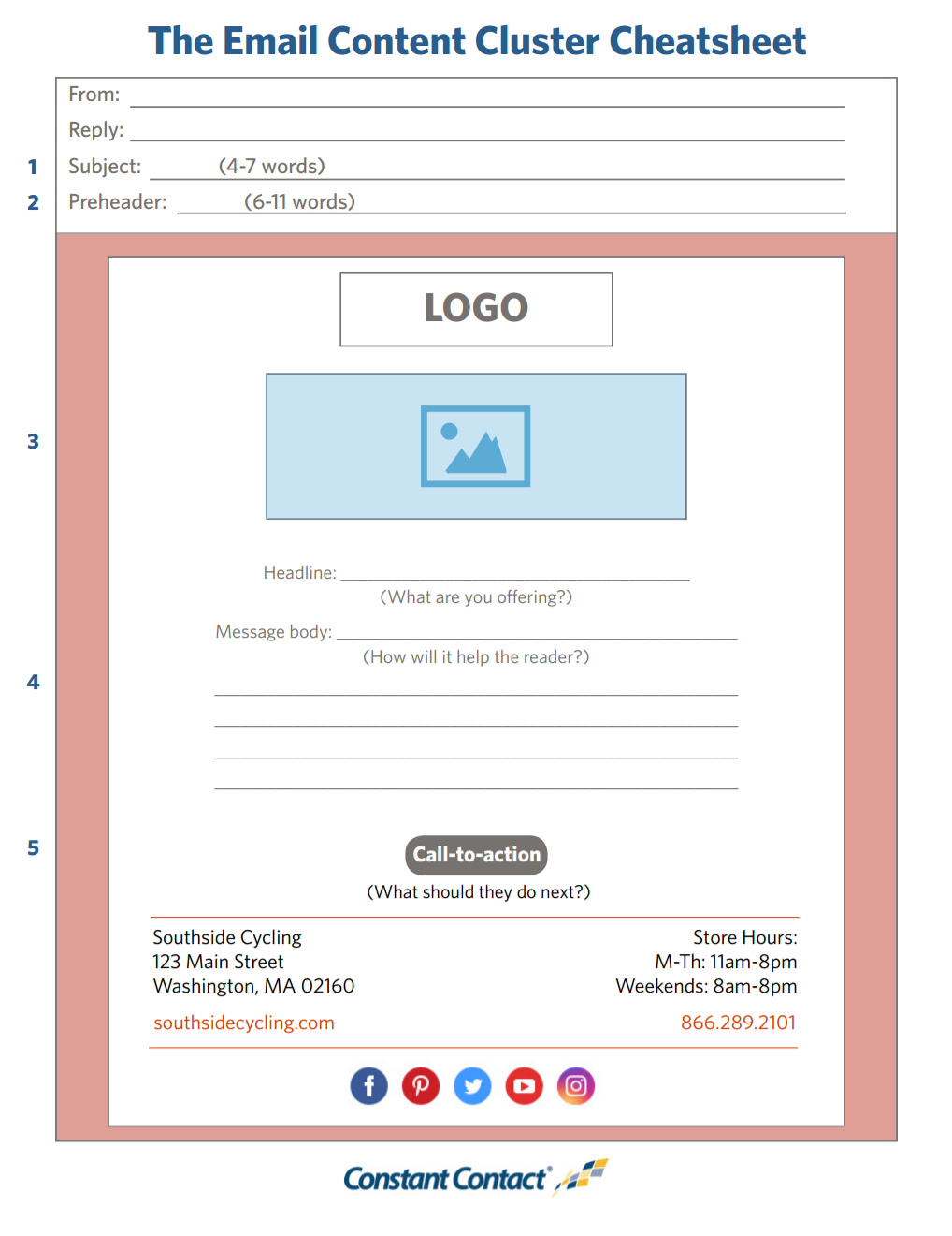 Worksheet] How to Write Your Email in 27 Minutes  - Constant
