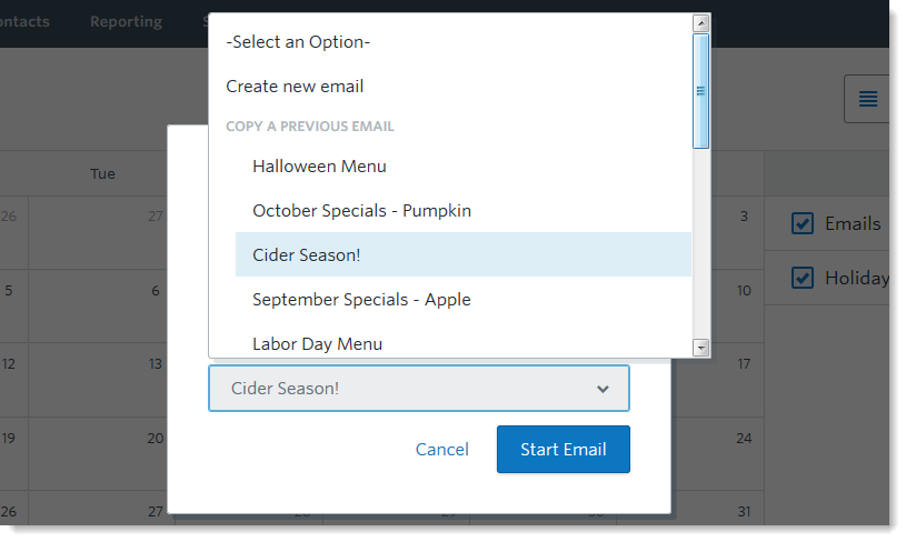 campaign-calendar-add-an-email-overlay-copy-previous-dropdown-option
