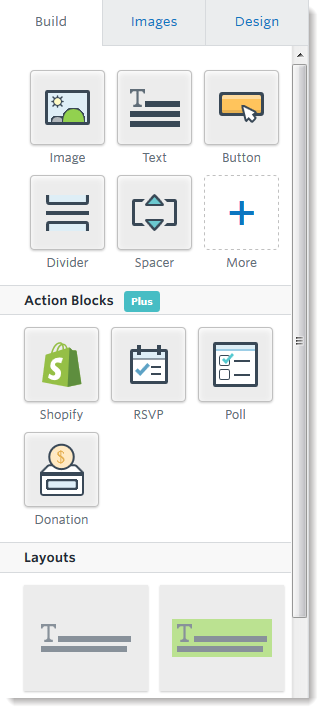 3ge-build-tab-action-blocks-and-layouts.png