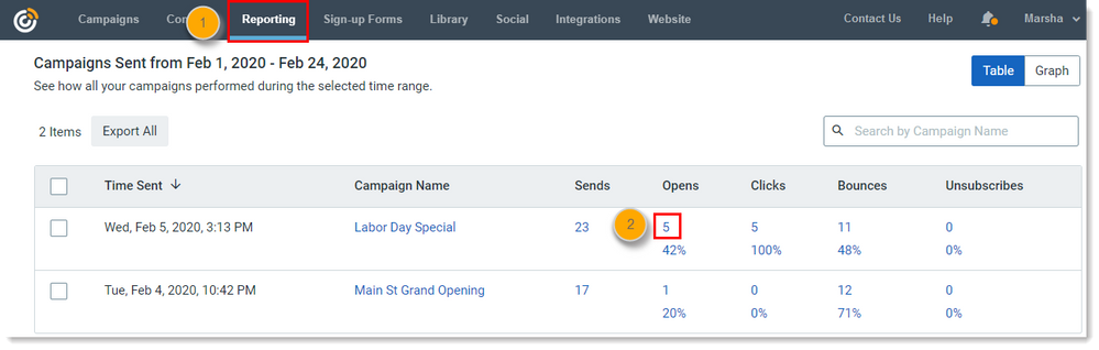 ReportingTab_ReportingRedesign_WithPercentages_LaborDaySpecial_Opens_Steps1-2.png