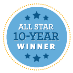 All Star 10 Year Winner