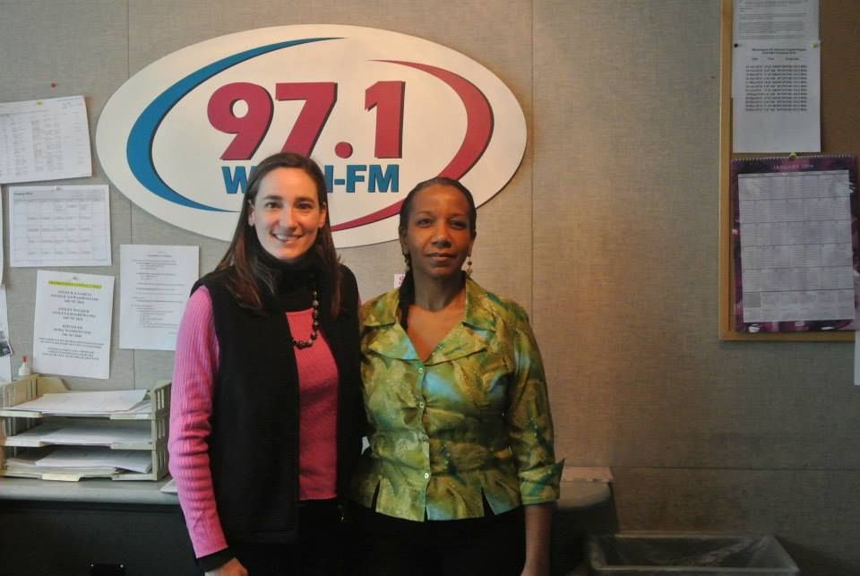 Maureen+Mclain+Clear+Channel+Media's+Midday+Host+with+Romona+Foster+Social+Media+Trainer+C.jpg
