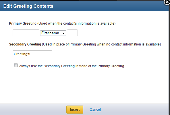 Personalize your email with a greeting constant contact community edit greetingg m4hsunfo