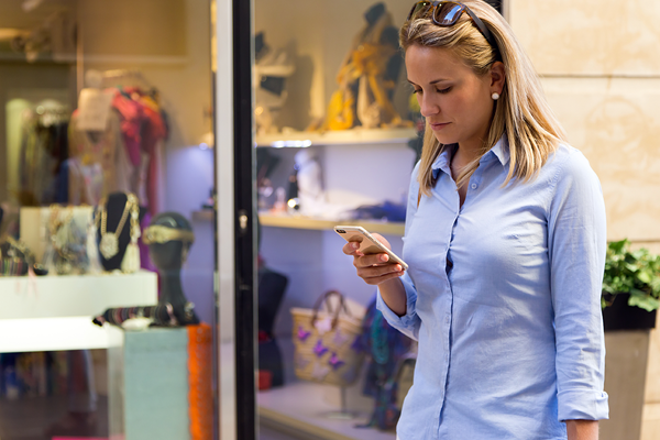 Shopping with a mobile device
