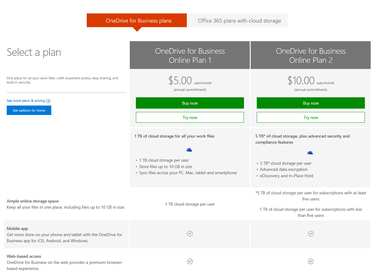Zee Drive for Office 365