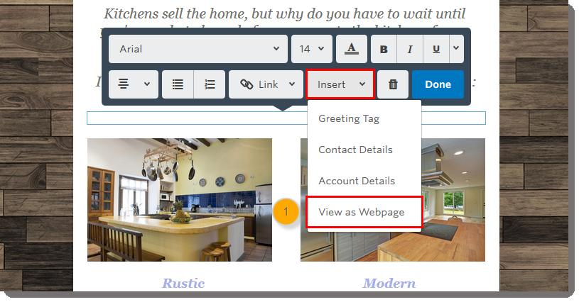 3ge-text-toolbar-insert-dropdown-menu-view-as-webpage-step1