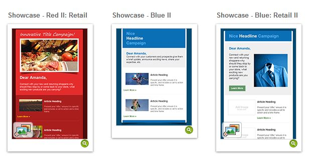 Mobile friendly newsletters constant contact community templates 7 9g pronofoot35fo Images