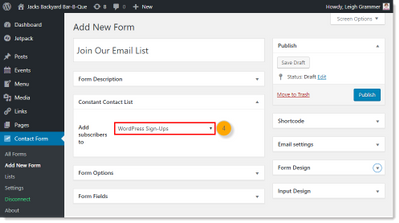 wordpress-contact-form-add-new-form-constant-contact-list-drop-down-menu-step4