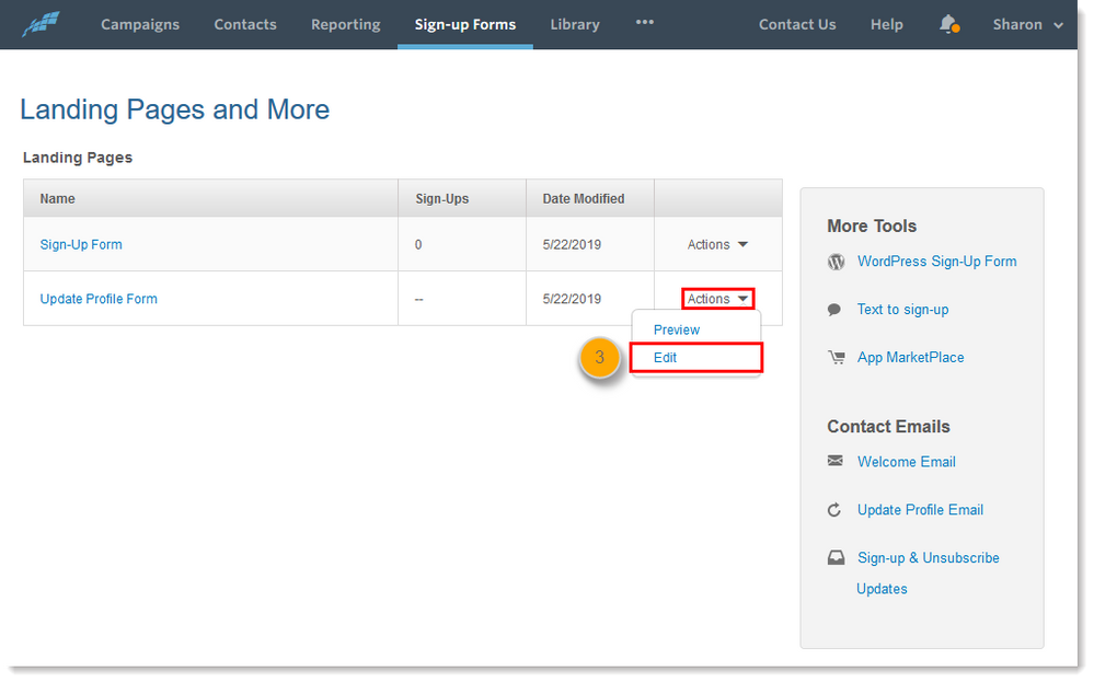 sign-up-forms-tab-landing-pages-and-more-update-profile-form-actions-dropdown-menu-edit-option-step3.png