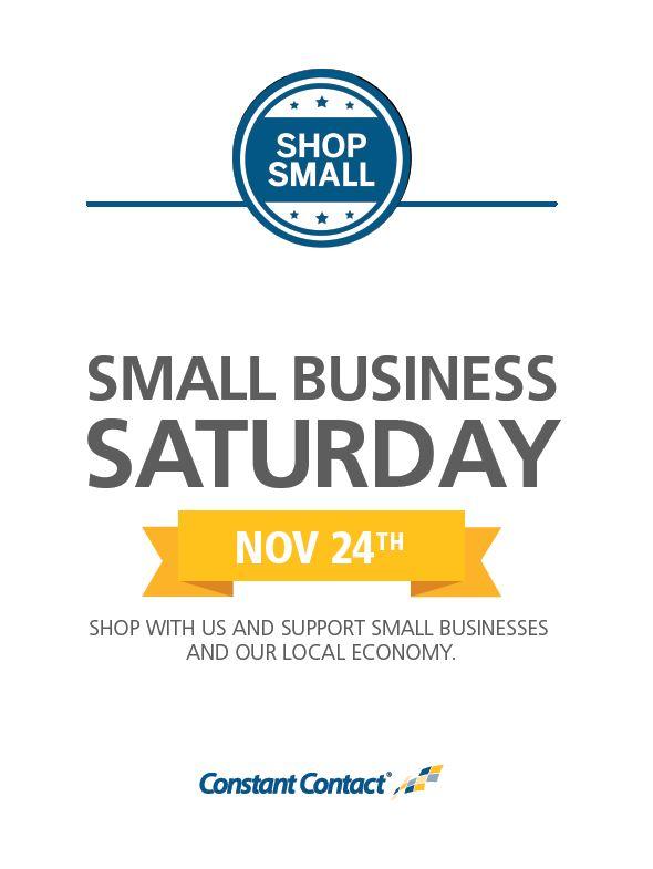 Small Business Saturday Signage.JPG