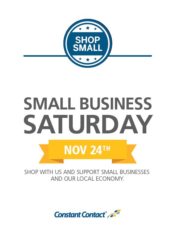 Small Business Saturday Signage.JPG