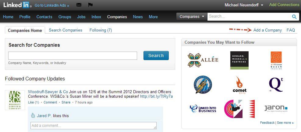 LinkedIn Companies Main page.jpg