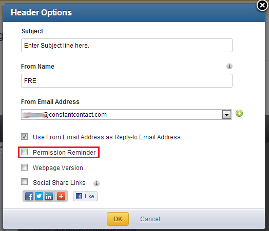 Solved Sample Reminder Email Needed Constant Contact Community
