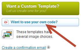 want to use your own code.png